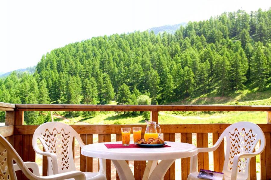 Holiday in mountain resort Résidence le Parc des Airelles - Les Orres - Balcony