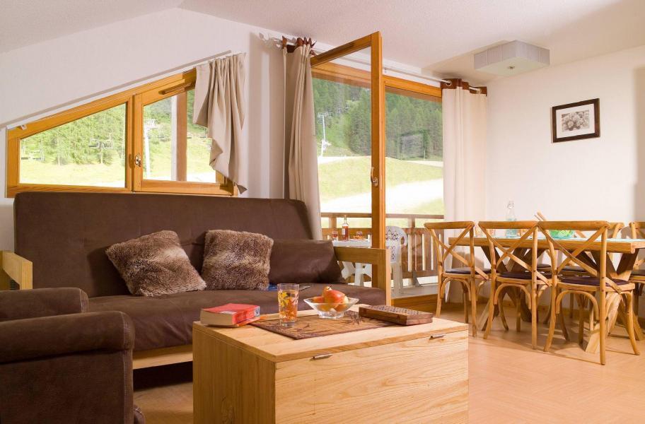 Urlaub in den Bergen Résidence le Parc des Airelles - Les Orres - Kleines Wohnzimmer