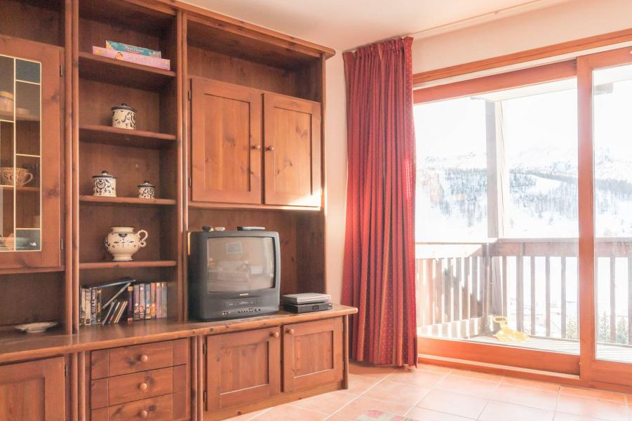 Wakacje w górach Apartament 3 pokojowy 6 osób (SARA21) - Résidence Le Parthénon - Montgenèvre - TV