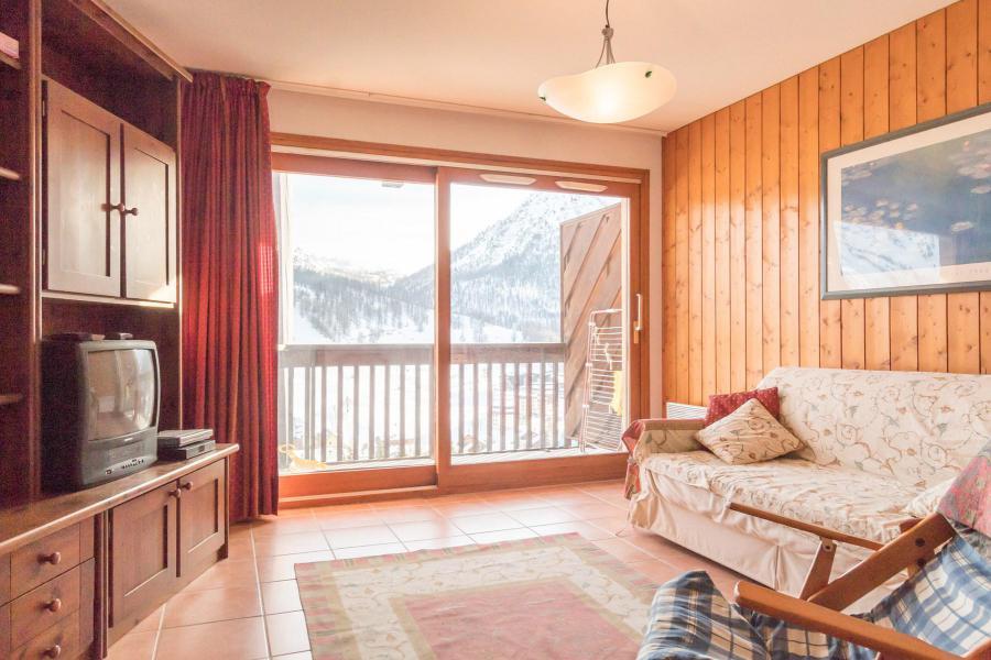 Vacances en montagne Appartement 3 pièces 6 personnes (SARA21) - Résidence Le Parthénon - Montgenèvre - Canapé