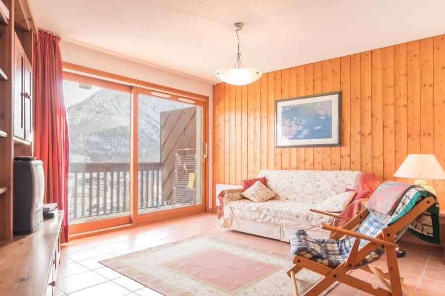 Vacances en montagne Appartement 3 pièces 6 personnes (SARA21) - Résidence Le Parthénon - Montgenèvre - Séjour