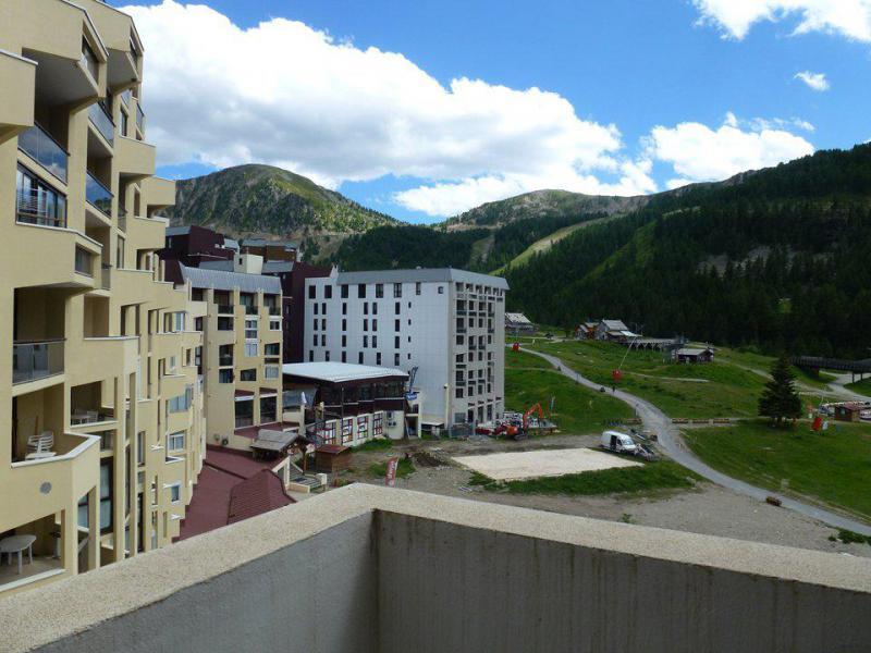Аренда на лыжном курорте Апартаменты 2 комнат 6 чел. (G9) - Résidence le Pélevos - Isola 2000 - летом под открытым небом