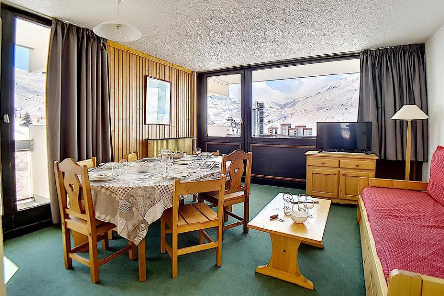 Holiday in mountain resort 3 room apartment 8 people (86) - Résidence le Pelvoux - Les Menuires