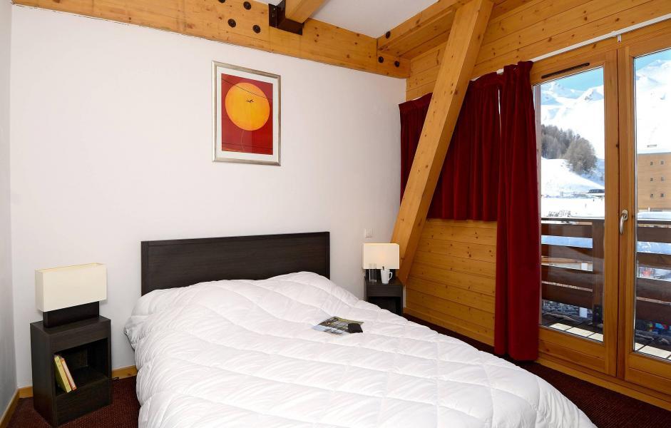 Urlaub in den Bergen Résidence le Pelvoux - La Plagne - Doppelbett