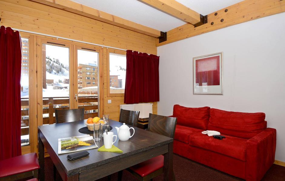 Urlaub in den Bergen Résidence le Pelvoux - La Plagne - Klappschlafcouch