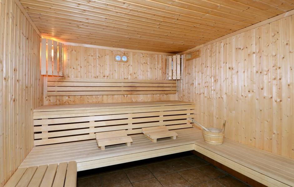 Vacances en montagne Résidence le Pelvoux - La Plagne - Sauna