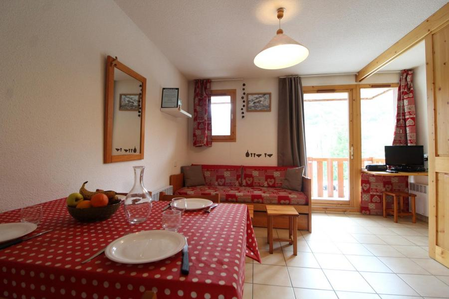 Urlaub in den Bergen 2-Zimmer-Appartment für 4 Personen (24) - Résidence le Petit Mont Cenis - Termignon-la-Vanoise - Esszimmer