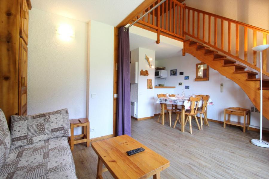 Urlaub in den Bergen 3 Zimmer Maisonettewohnung für 8 Personen (32) - Résidence le Petit Mont Cenis - Termignon-la-Vanoise - Wohnzimmer