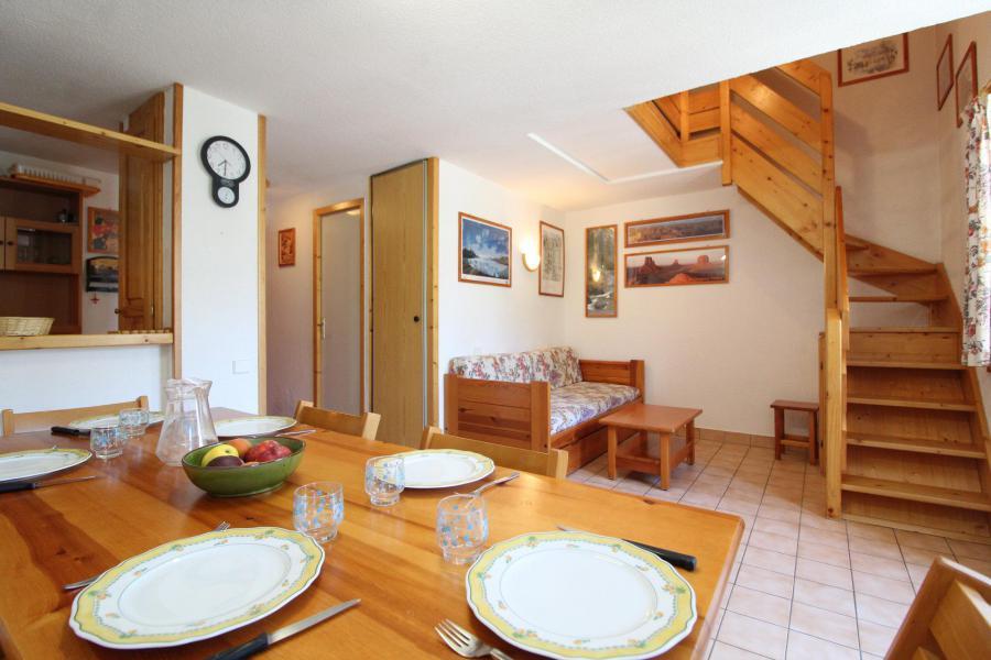 Vacances en montagne Appartement 2 pièces mezzanine 6 personnes (26) - Résidence le Petit Mont Cenis - Termignon-la-Vanoise - Salle à manger