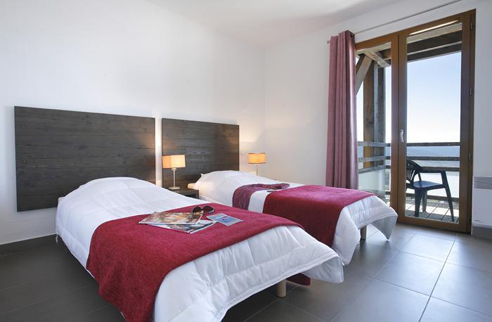 Holiday in mountain resort Résidence Le Pic de l'Ours - Font Romeu - Single bed