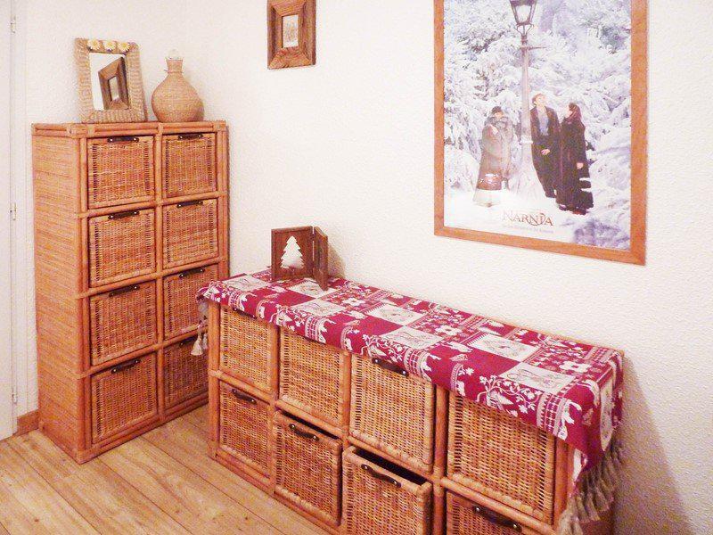 Vakantie in de bergen Appartement 4 kamers 8 personen (343) - Résidence le Pic Vert - Les Orres - Kamer