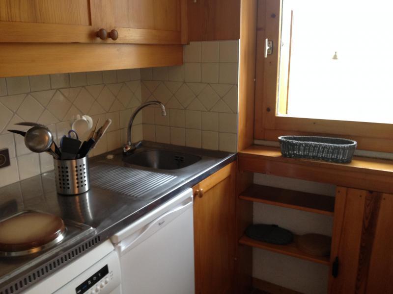 Vacances en montagne Appartement 2 pièces 5 personnes (011) - Résidence le Pierrafort - Valmorel - Kitchenette