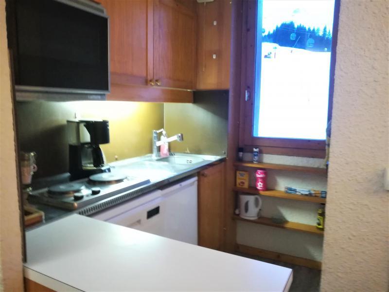 Vacances en montagne Appartement 2 pièces 5 personnes (019) - Résidence le Pierrafort - Valmorel - Kitchenette