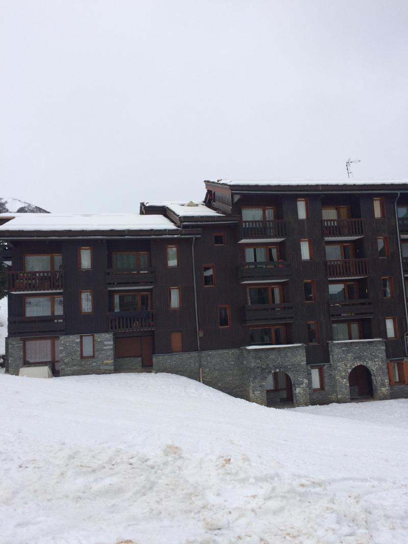 Vacances en montagne Studio 4 personnes (035) - Résidence le Pierrer - Valmorel - Extérieur été