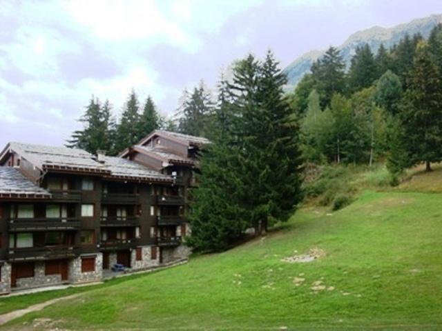 Ski verhuur Studio 4 personen (051) - Résidence le Pierrer - Valmorel - Buiten zomer