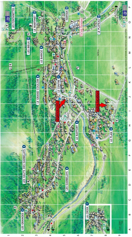 Vacaciones en montaña Résidence le Plan d'Amont - Pralognan-la-Vanoise - Plano