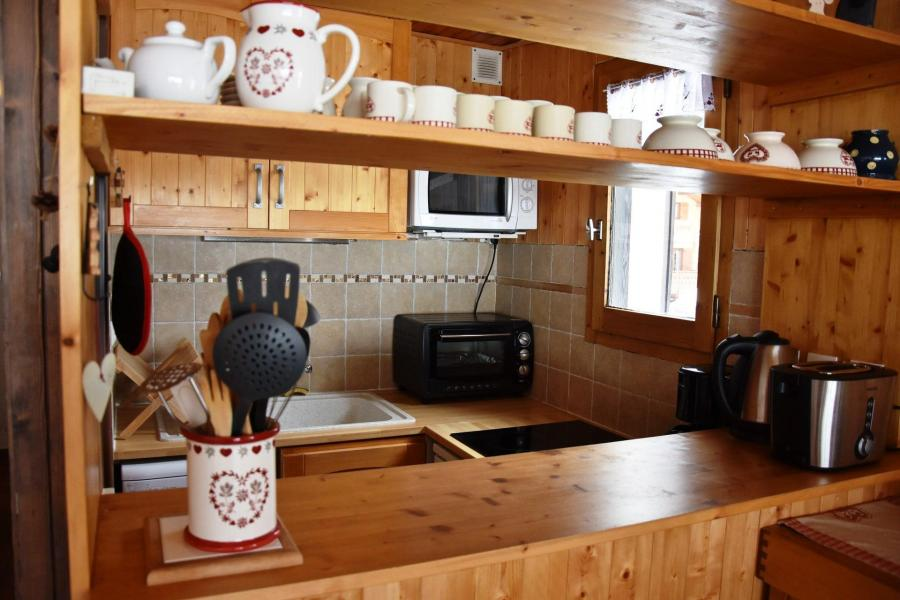 Vacaciones en montaña Apartamento 2 piezas para 4 personas (8) - Résidence le Plan d'Amont - Pralognan-la-Vanoise - Cocina
