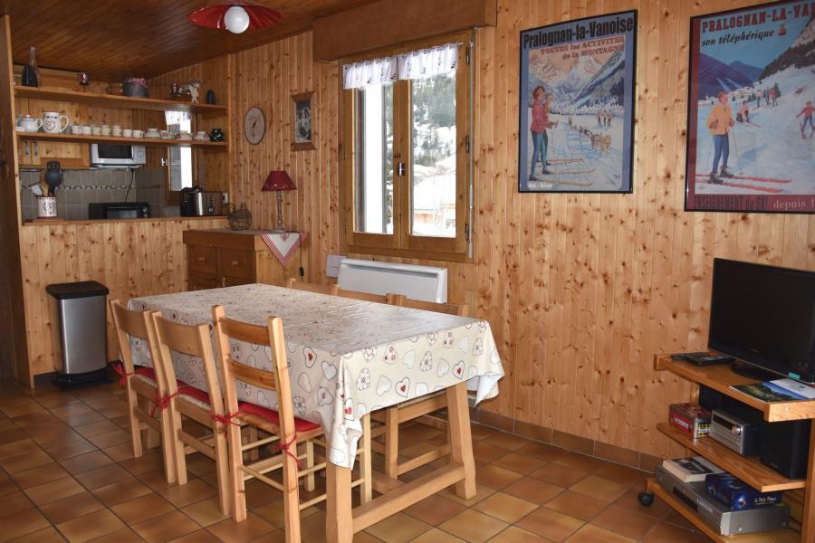 Vacaciones en montaña Apartamento 2 piezas para 4 personas (8) - Résidence le Plan d'Amont - Pralognan-la-Vanoise - Cocina abierta