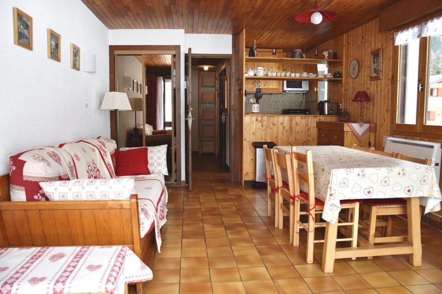 Vacaciones en montaña Apartamento 2 piezas para 4 personas (8) - Résidence le Plan d'Amont - Pralognan-la-Vanoise - Estancia