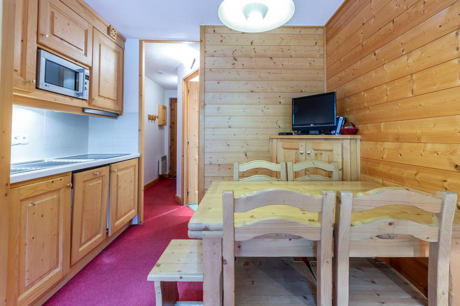 Vacances en montagne Appartement 3 pièces 6 personnes (103) - Résidence le Plan du Lac - Méribel-Mottaret