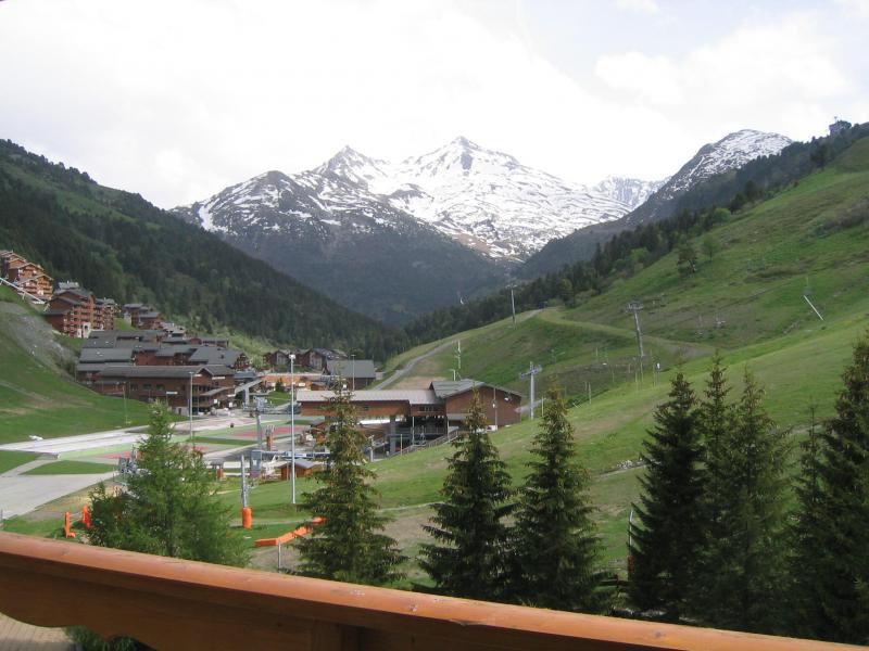 Vacances en montagne Appartement 2 pièces 5 personnes (810) - Résidence le Plein Soleil - Méribel-Mottaret - Extérieur été