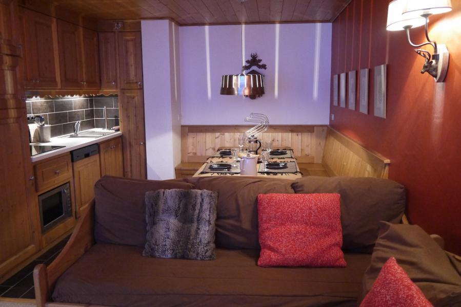 Vacances en montagne Appartement 2 pièces 5 personnes (810) - Résidence le Plein Soleil - Méribel-Mottaret - Logement