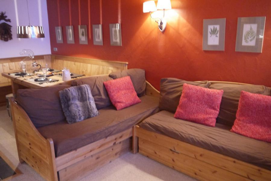 Vacances en montagne Appartement 2 pièces 5 personnes (810) - Résidence le Plein Soleil - Méribel-Mottaret - Séjour