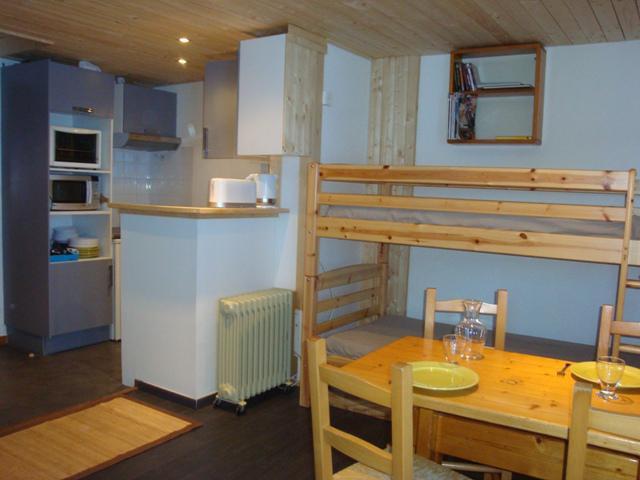 Vacances en montagne Appartement 2 pièces 4 personnes (007) - Résidence le Portail - Valmorel - Logement