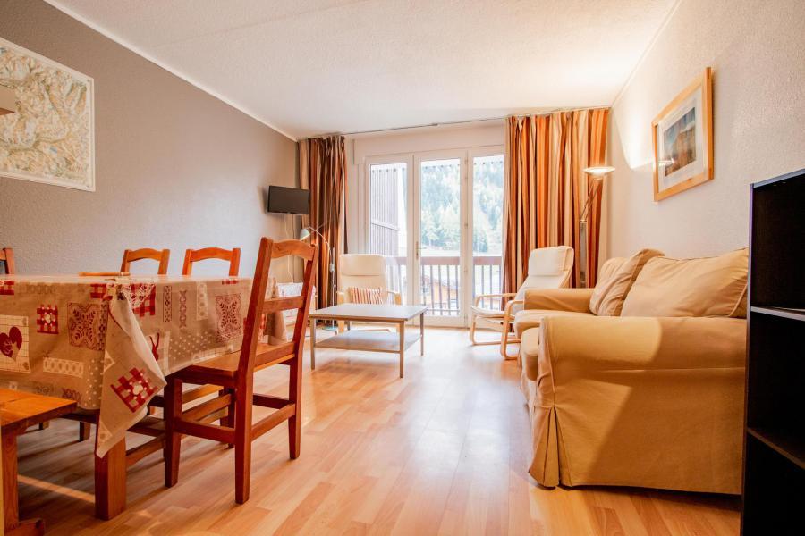 Wakacje w górach Apartament 3 pokojowy z alkową 8 osób (PR31CA) - Résidence le Pra - La Norma - Pokój gościnny