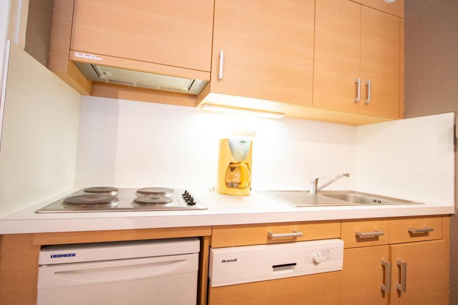 Vacaciones en montaña Apartamento cabina 3 piezas para 8 personas (PR31CA) - Résidence le Pra - La Norma - Mesa baja