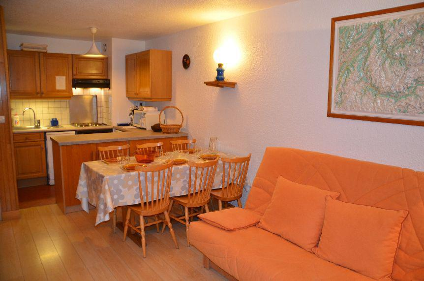 Holiday in mountain resort 2 room apartment 6 people (21) - Résidence le Pra Coutin - Les Menuires - Plan