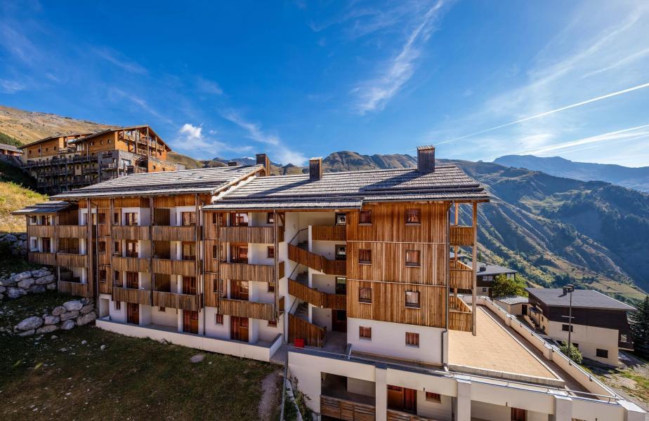 Location au ski Résidence le Pra Palier - Orcières Merlette 1850 - Extérieur été