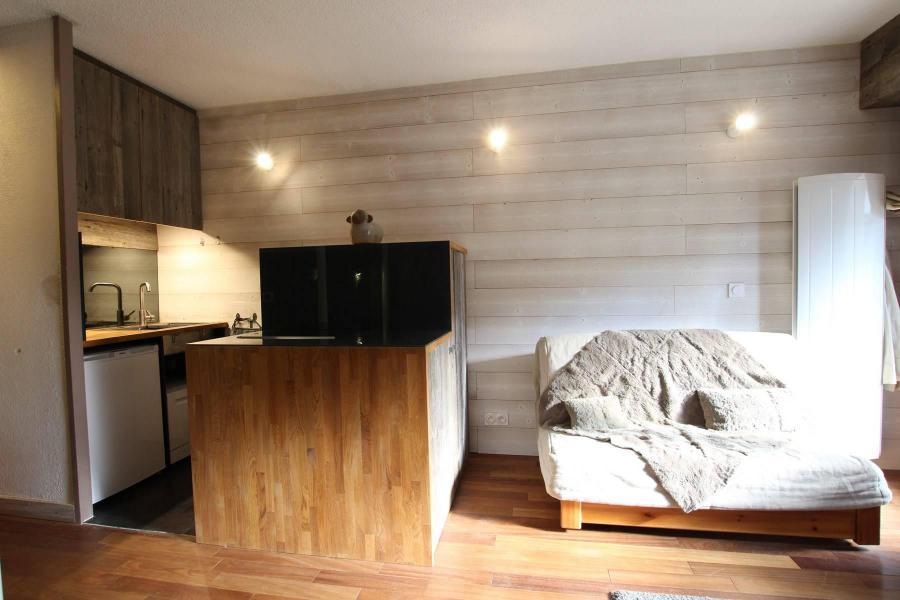 Vacances en montagne Studio cabine 6 personnes (A021) - Résidence le Prarial - Serre Chevalier - Banquette
