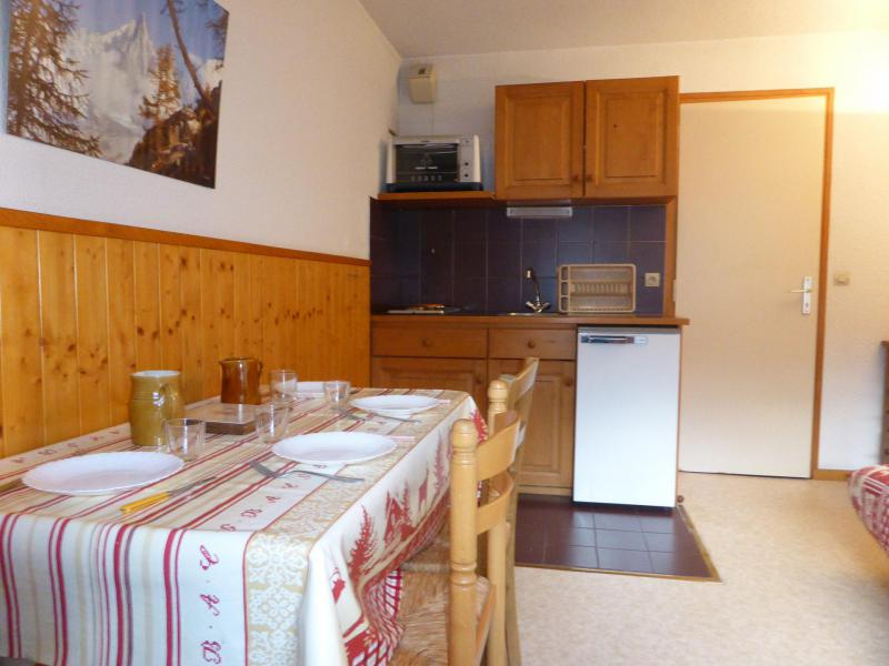 Holiday in mountain resort Studio 4 people (C34) - Résidence le Prarion 2 - Les Houches