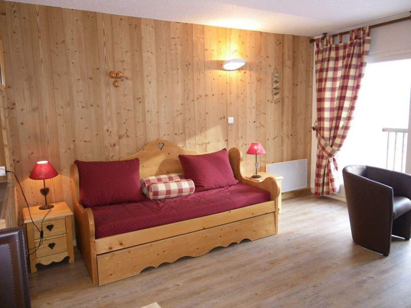 Wakacje w górach Studio kabina 4 osoby (PRAZ14) - Résidence le Praz - Valloire