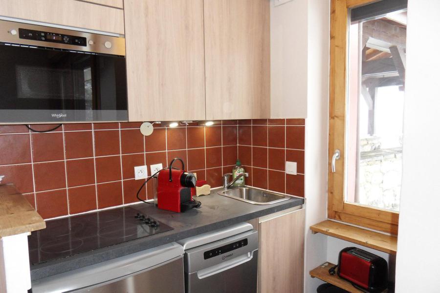 Holiday in mountain resort 2 room apartment 4 people (438) - Résidence le Quartz - La Plagne - Kitchenette