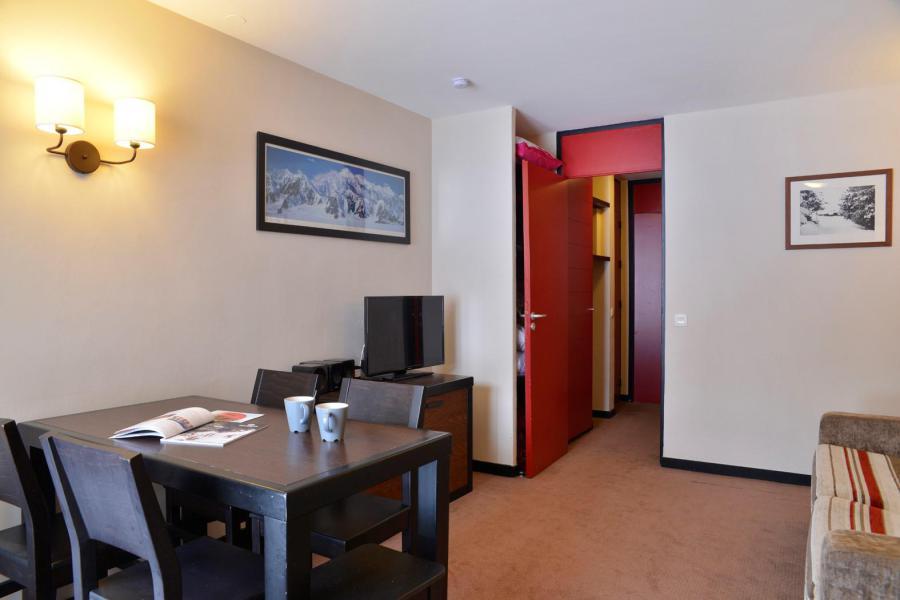 Urlaub in den Bergen 2-Zimmer-Appartment für 4 Personen (438) - Résidence le Quartz - La Plagne