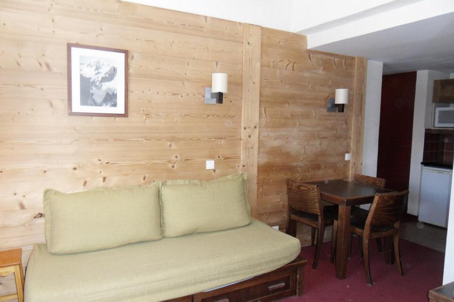 Urlaub in den Bergen Studio für 3 Personen (556) - Résidence le Quartz - La Plagne - Einfache Klappschlafcouch