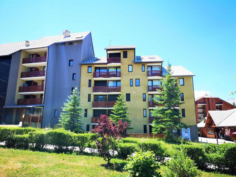 Wakacje w górach Apartament 2 pokojowy 4 osób (439) - Résidence Le Relais - La Joue du Loup - Na zewnątrz latem