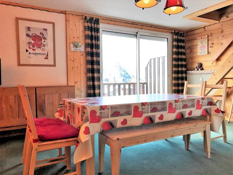 Wakacje w górach Apartament 2 pokojowy 6 osób (168) - Résidence le Rochail - Les 2 Alpes