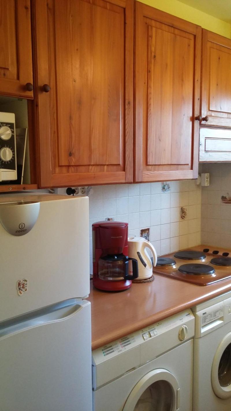Wakacje w górach Apartament 2 pokojowy 6 osób (2K) - Résidence le Rocher Saint Pierre - Valloire - Aneks kuchenny