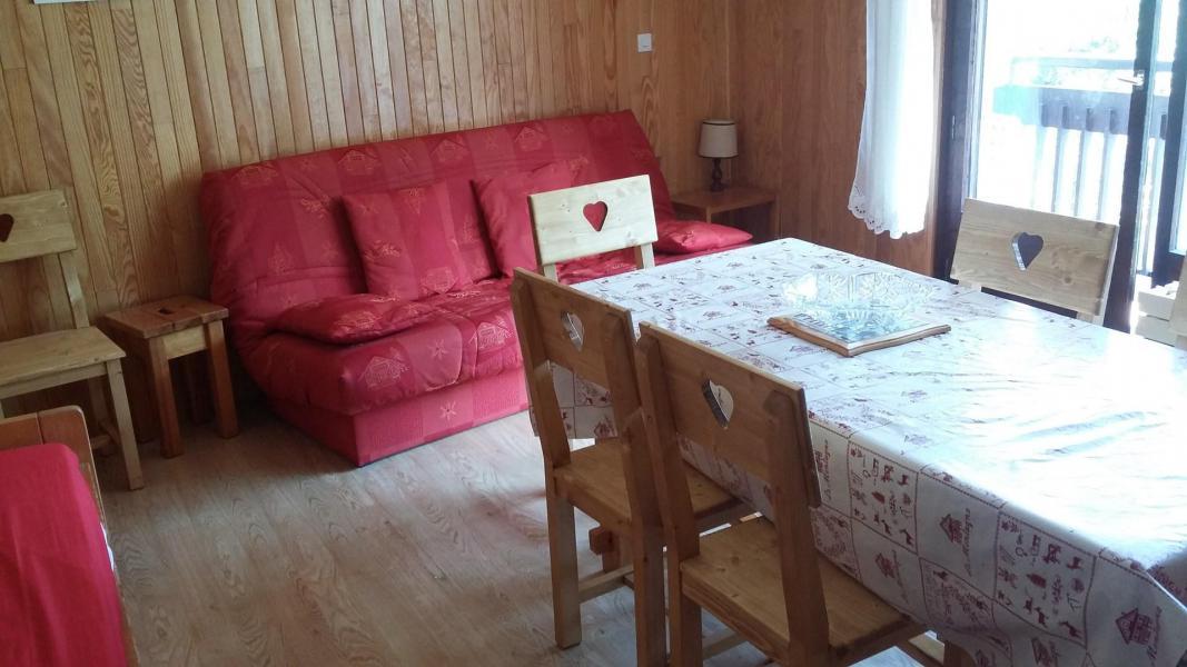 Wakacje w górach Apartament 2 pokojowy 6 osób (2K) - Résidence le Rocher Saint Pierre - Valloire - Pokój gościnny