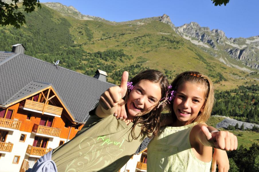 Location au ski Résidence le Rond Point des Pistes - Saint-François Longchamp - Extérieur été
