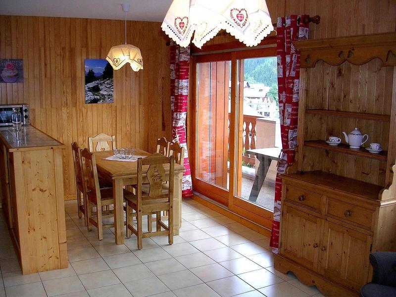 Vacances en montagne Appartement 4 pièces 8 personnes (01BCL) - Résidence le Roselin - Champagny-en-Vanoise - Table
