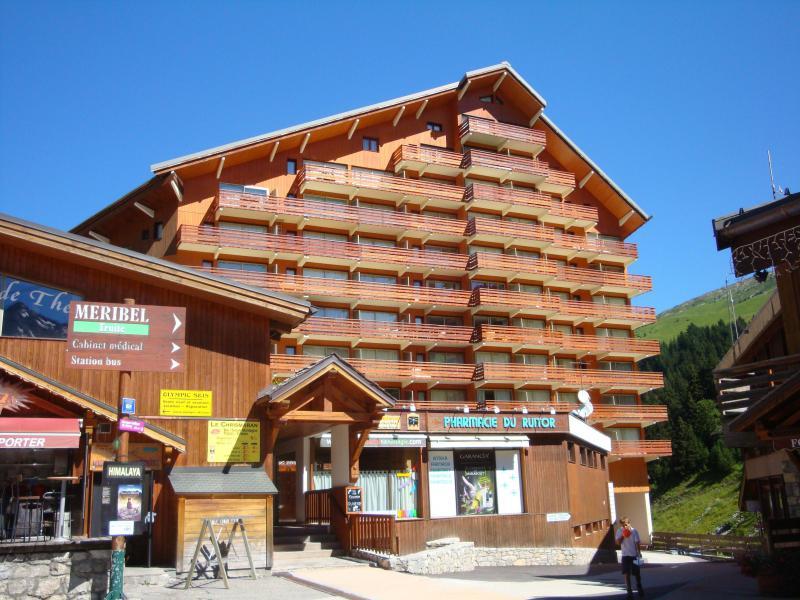 Location au ski Résidence le Ruitor - Méribel-Mottaret - Extérieur été
