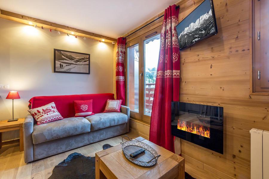 Vacances en montagne Studio 4 personnes (113) - Résidence le Ruitor - Méribel-Mottaret