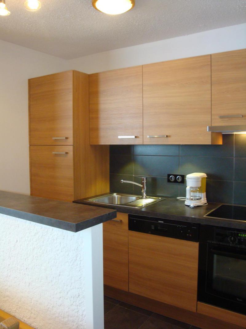 Vacances en montagne Appartement 2 pièces 5 personnes (401) - Résidence le Ruitor - Méribel-Mottaret - Kitchenette