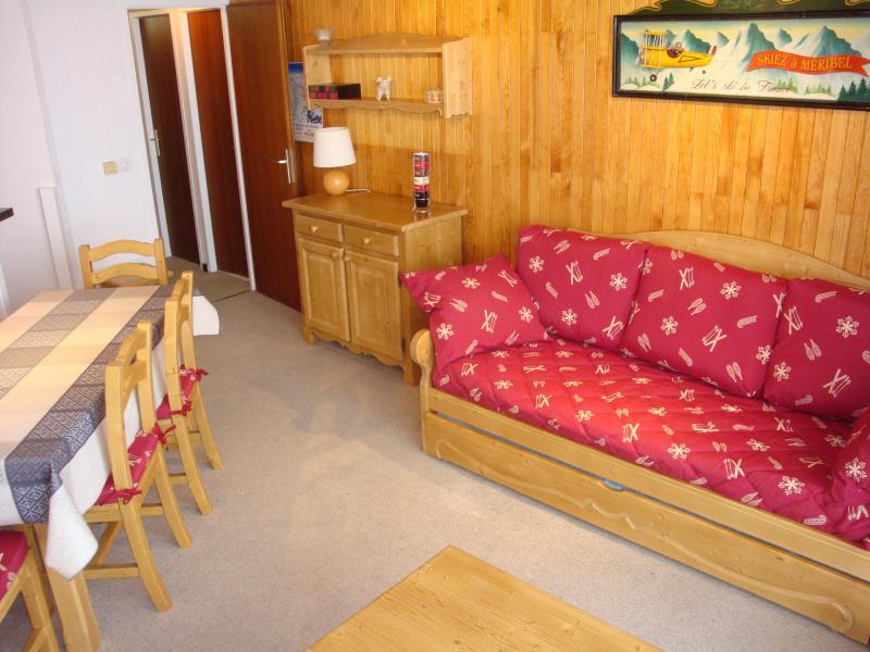 Vacances en montagne Appartement 2 pièces 5 personnes (401) - Résidence le Ruitor - Méribel-Mottaret - Séjour