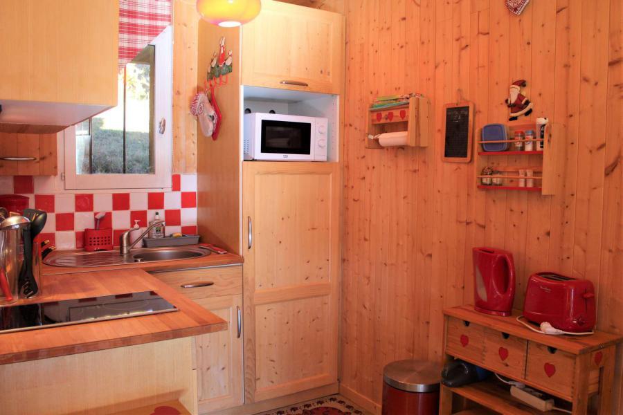 Wakacje w górach Studio 2 osoby (002) - Résidence le Sandrina - Vars - Na zewnątrz latem