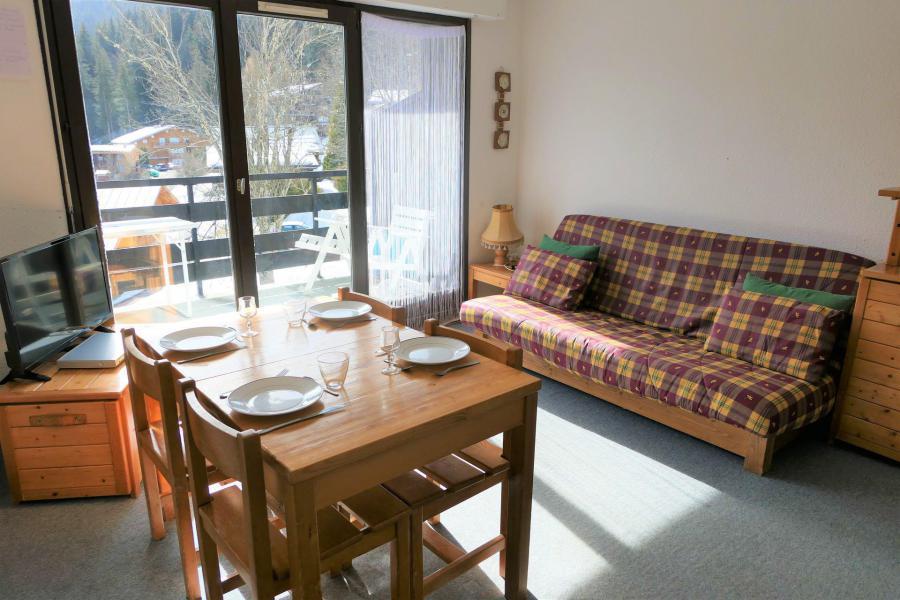 Urlaub in den Bergen Studio Kabine für 4 Personen (75) - Résidence le Saphir - Saint Gervais
